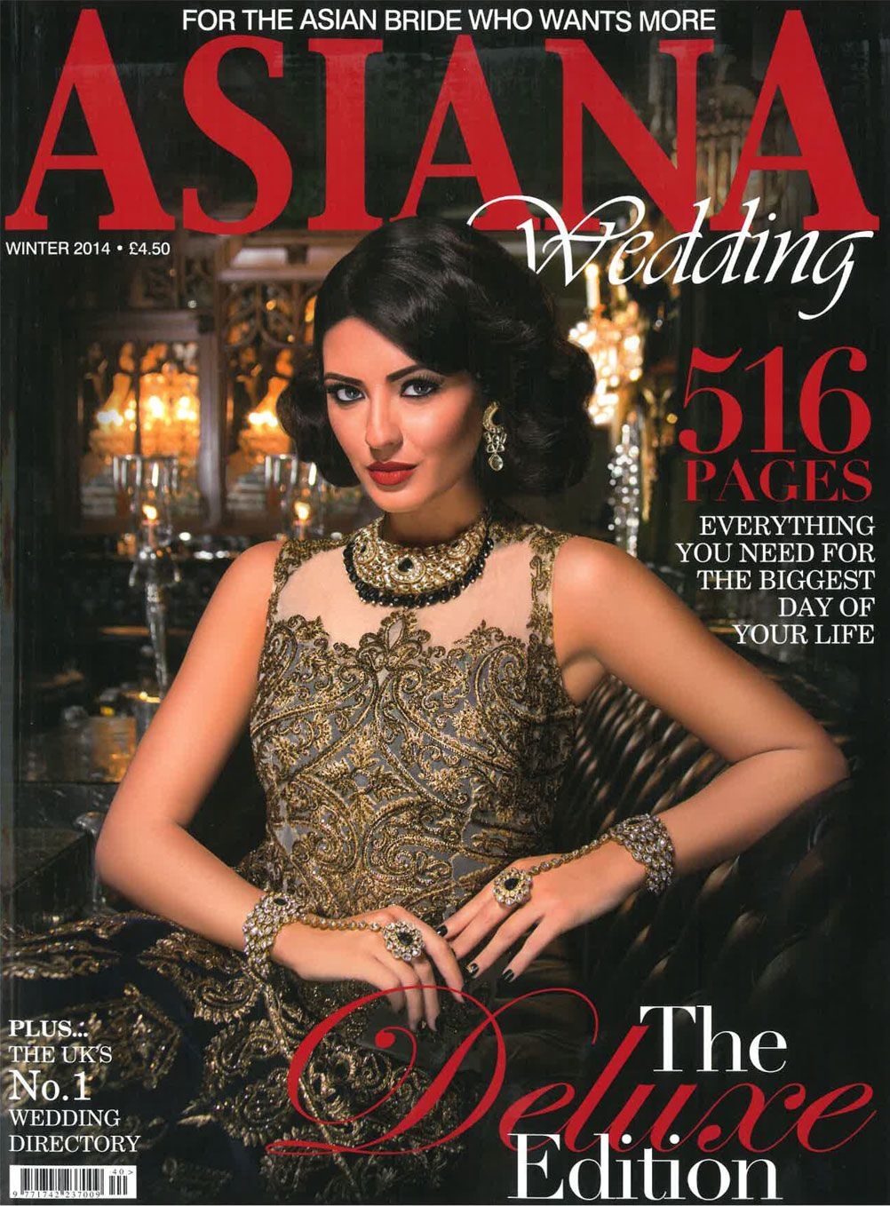 Asiana Magazine Bridal Bouquet Wedding Larry Walshe Florist London