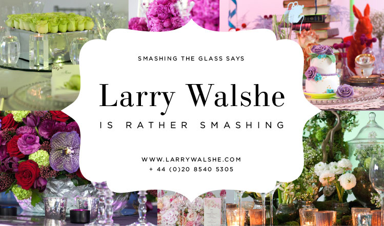 Larry Walshe flowers jewish Smashing the glass smashing supplier london uk