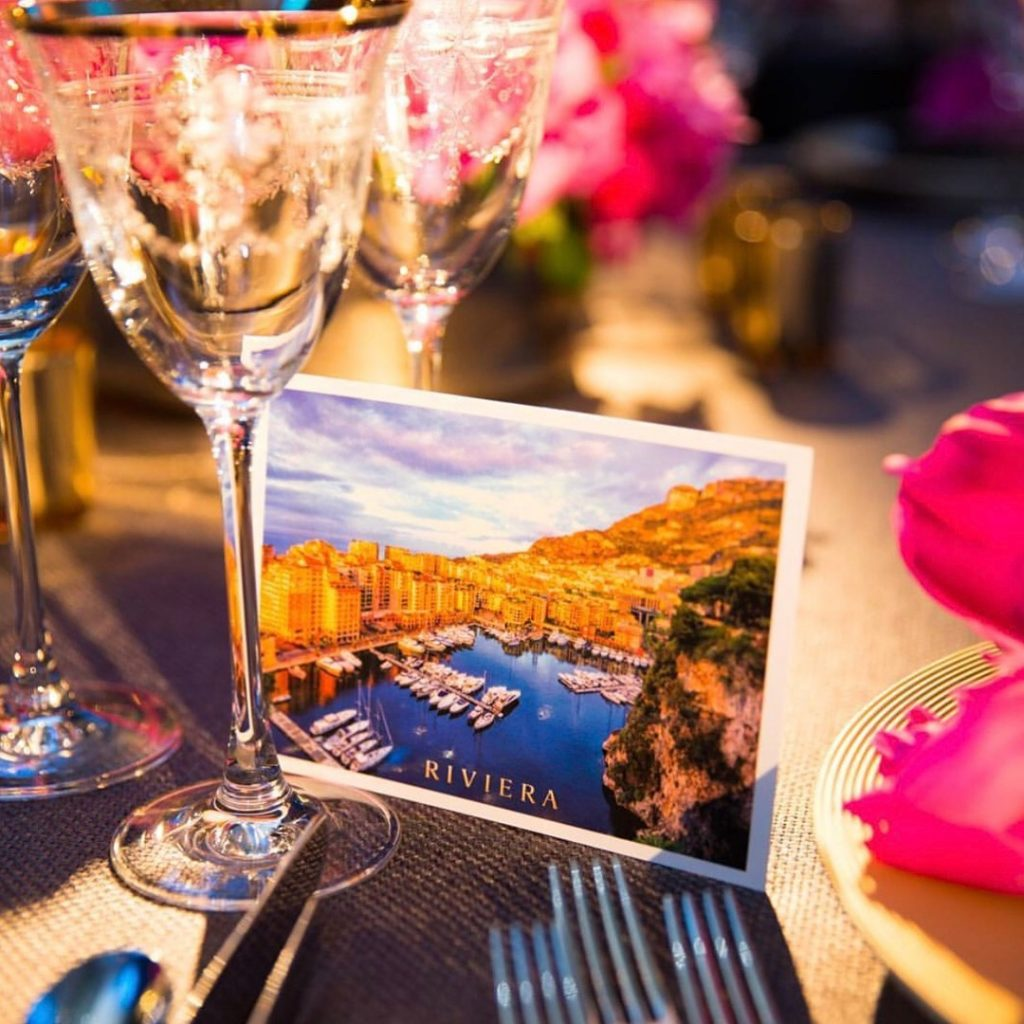 French Riviera Bon Apetit The Halcyon Gallery Mayfair London Flowers Peonies Pink Florist London sky atlantic larry walshe postcard
