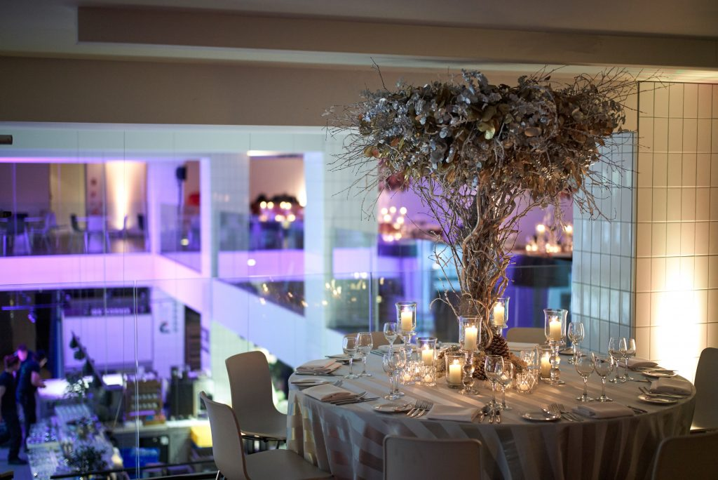 ZSL-London-Zoo-Opening-Event-Foliage-Flowers-Florist-Larry-Walshe-tree-silver-terrace