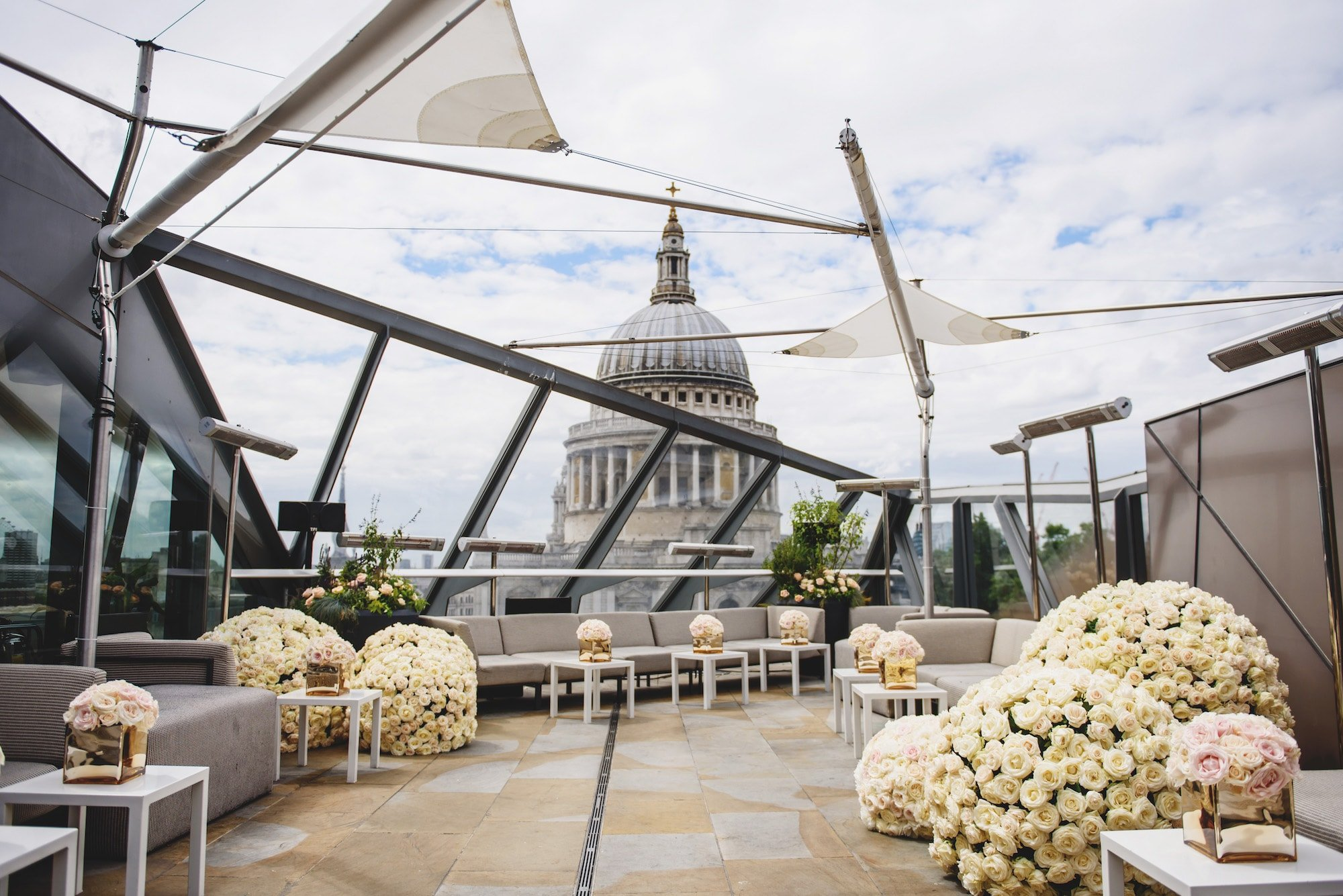 Larry Walshe Floral Design - Wedding at The Madison London