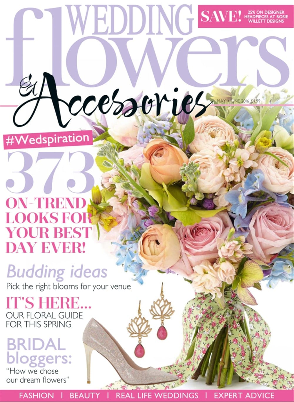 Wedding Flowers Accessories May 2016