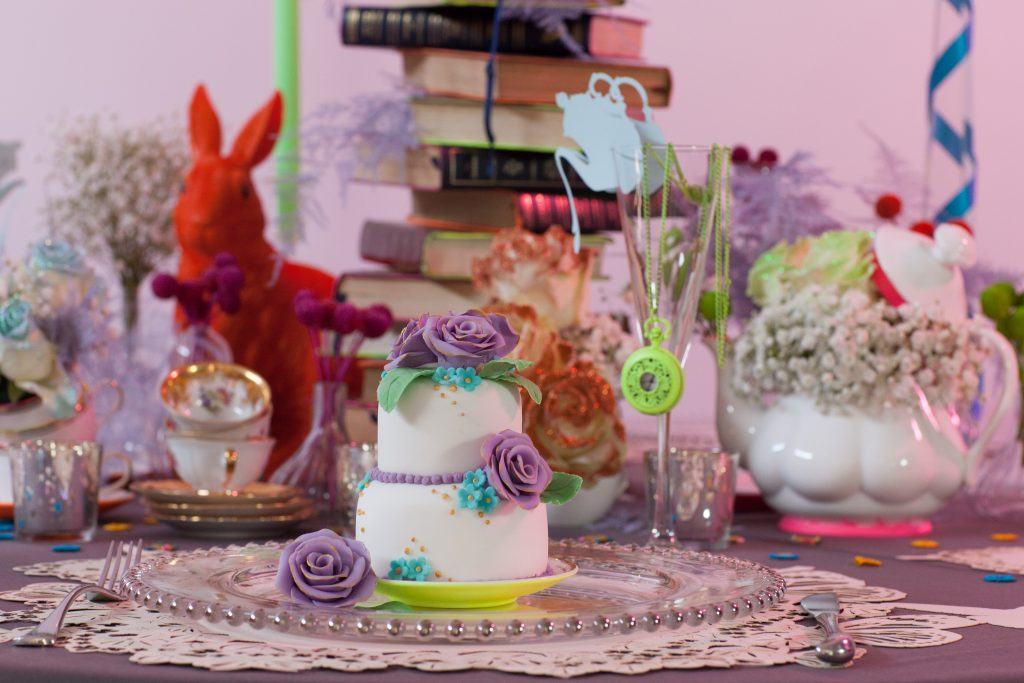 Alice in Wonderland bat mitzvah