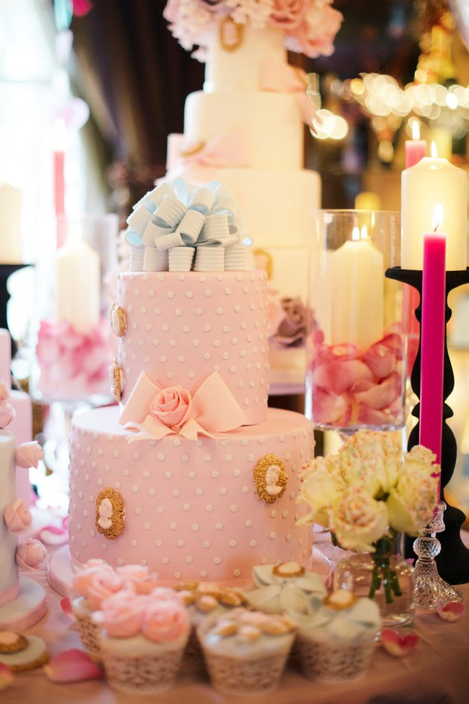 decadent kids children's birthday party flowers cake table london florist larry walshe notting hill