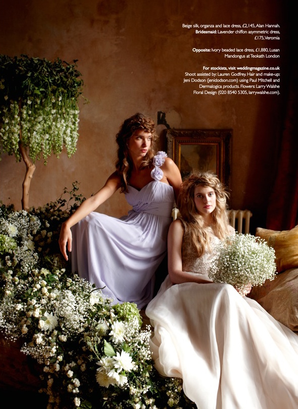 wedding magazine january 2015 larry walshe flowers