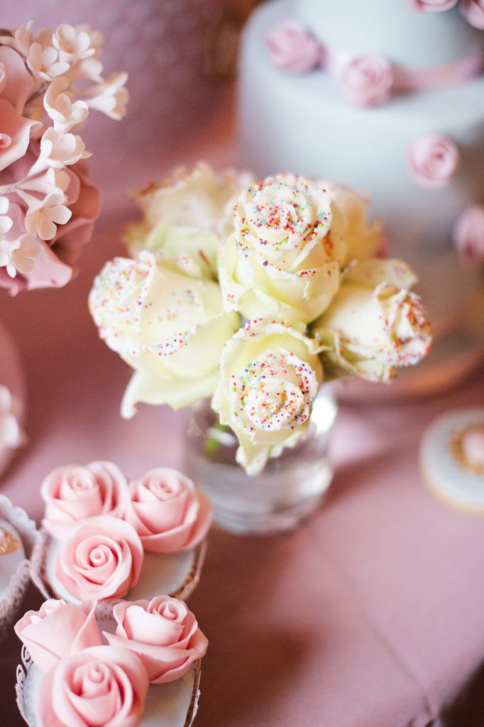 white chocolate roses kids birthday party flowers london florist larry walshe notting hill