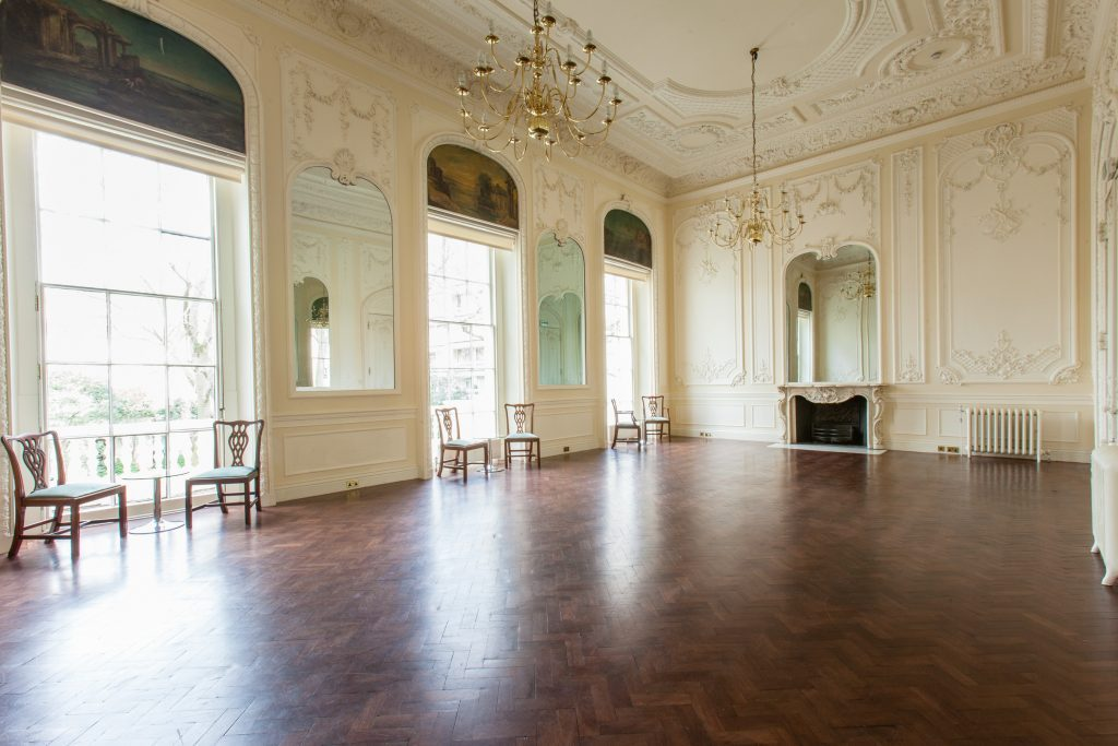 Carlton House Terrace music room St James park London weddings events flowers florist larry walshe