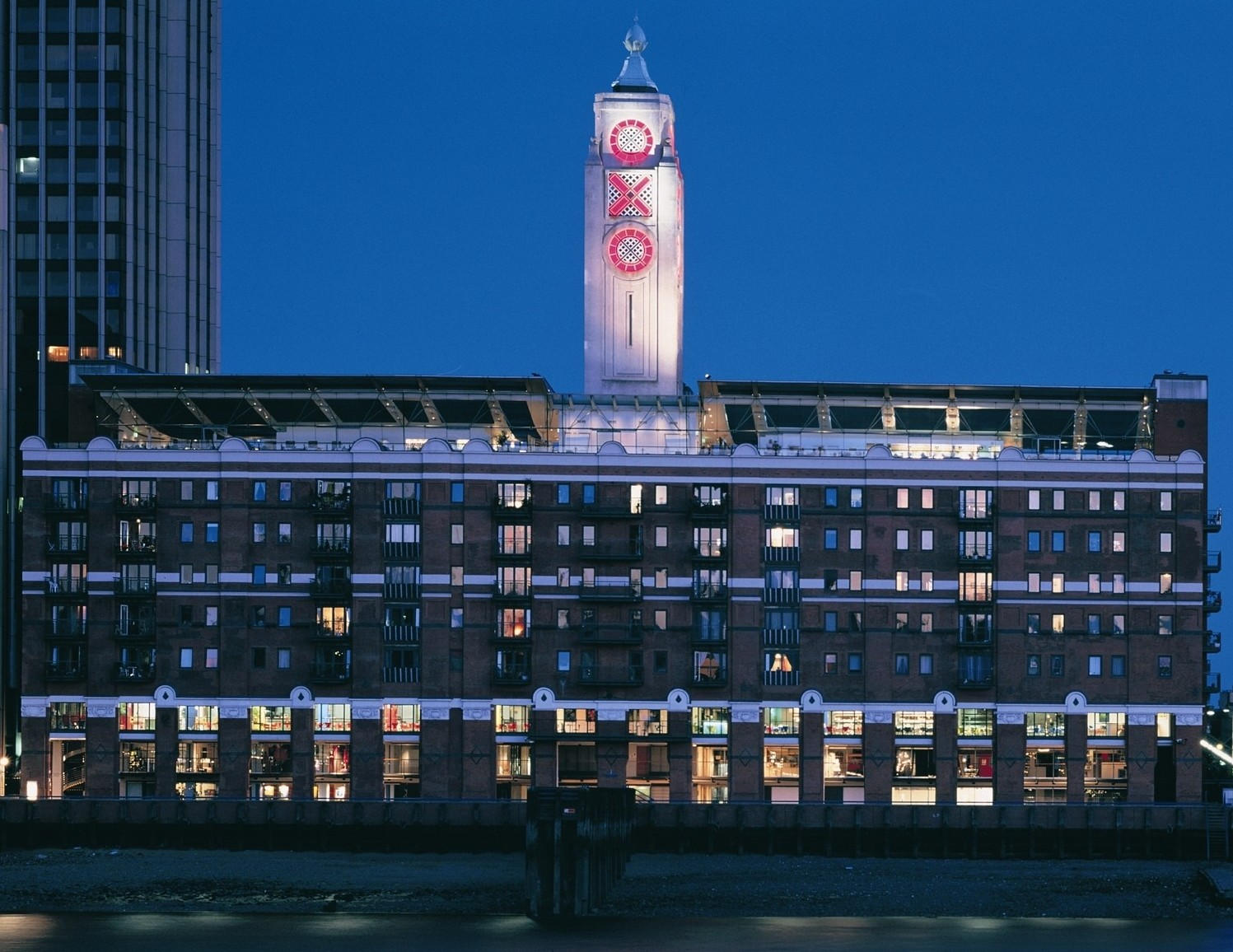 Oxo Building at Night crop