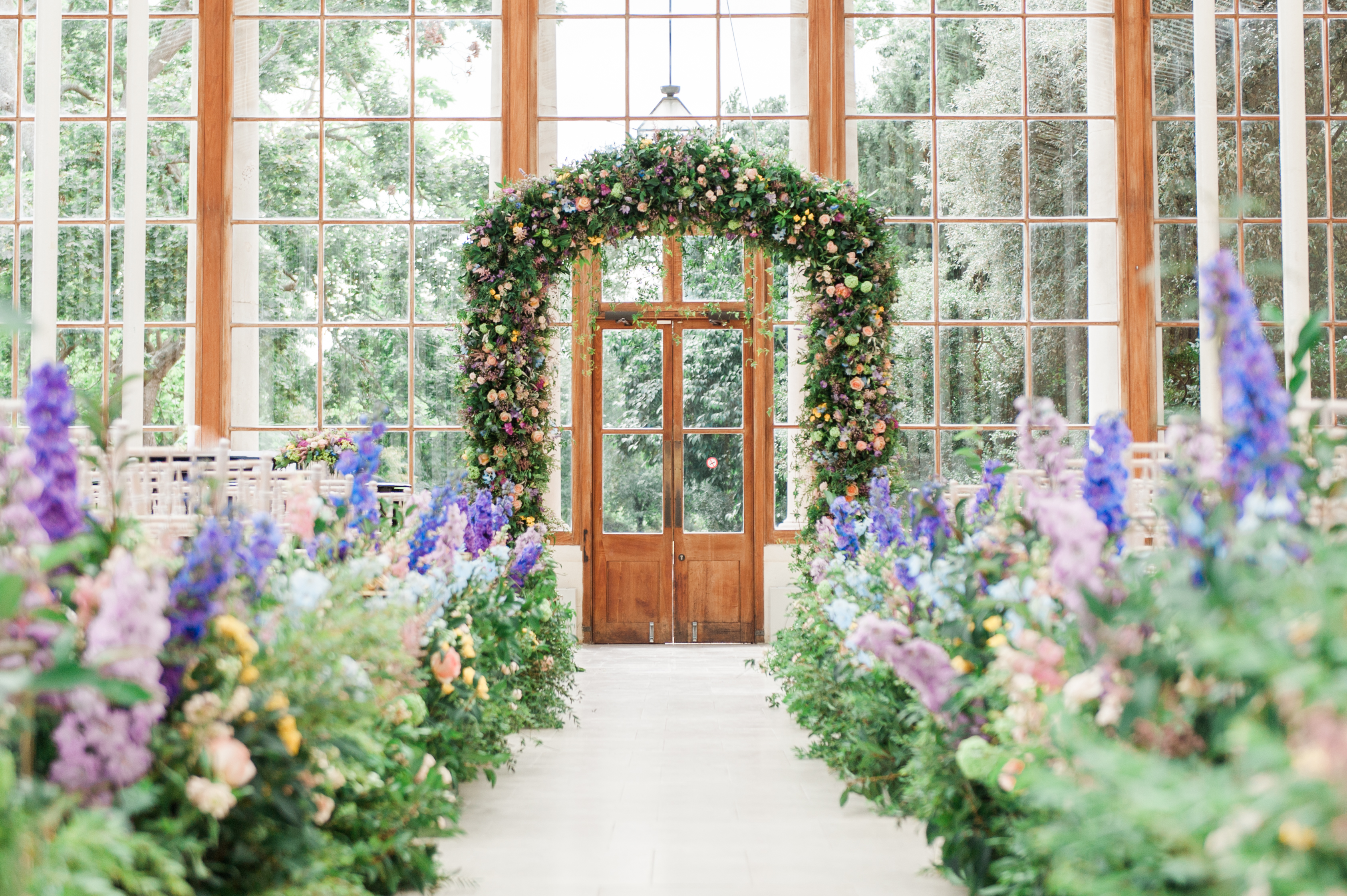 Wild Flower Wedding At Kew Gardens Larry Walshe