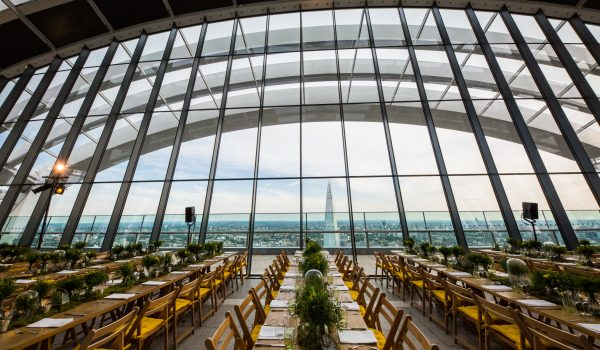 Larry Walshe Sky Garden London Florist